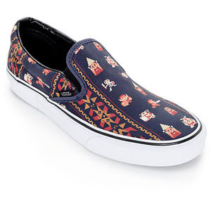 VANS x Nintendo Zelda Classic Slip On Shoes